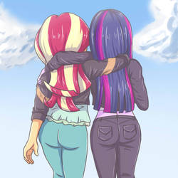 Twilight and sunset. by sumin6301