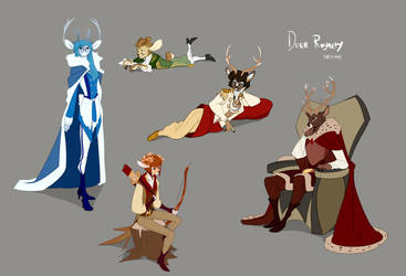 Deer Royalty by Edheloth