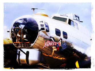 The B-17G 'Yankee Lady' 1 by x-seraphin