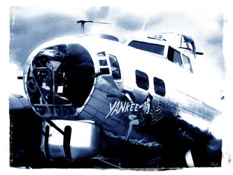 The B-17G 'Yankee Lady' 3 by x-seraphin