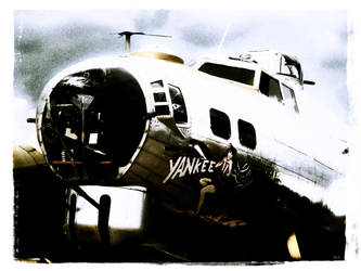 The B-17G 'Yankee Lady' 4 by x-seraphin