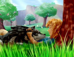 Link + Pupper by EmmaWight