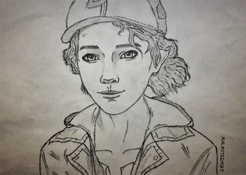 Sketch Clementine #6 by RandyRhoads97