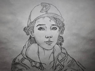 Sketch Clementine #7 by RandyRhoads97