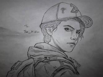 Sketch Clementine #8 by RandyRhoads97