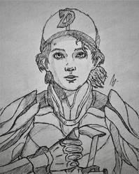 Clementine crossover art (StarCraft) by RandyRhoads97
