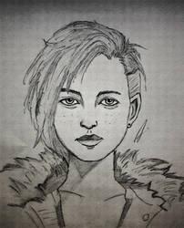Minerva Portrait by RandyRhoads97