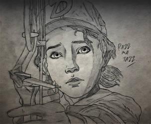Clementine Draw #1 by RandyRhoads97