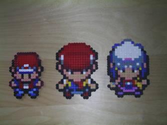 Hama Pokemon trainers NDS by tony-boi
