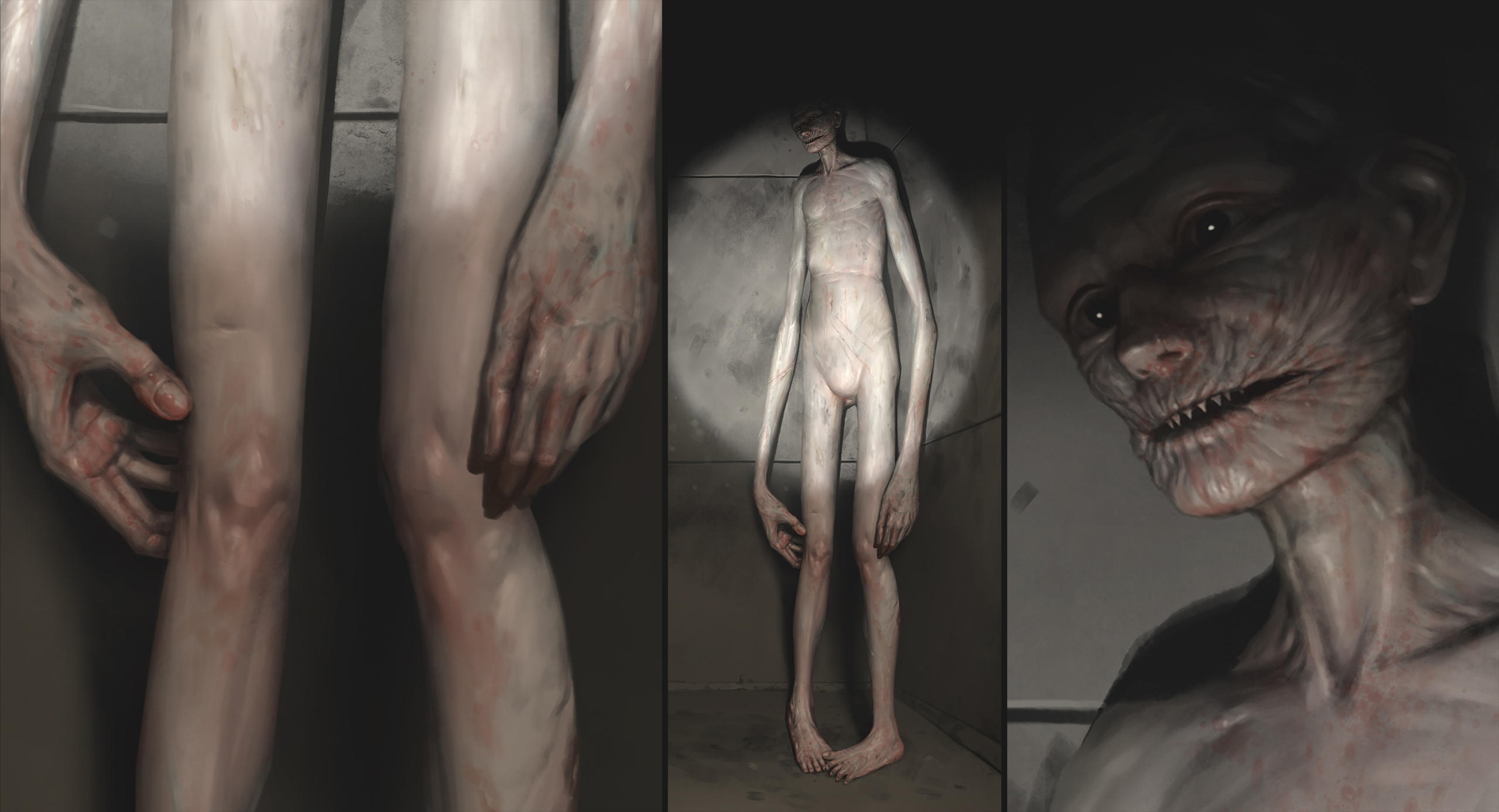 SCP-096 (The Shy Guy) by dante-cg