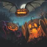 Possessed Pumpkins 2016 by dante-cg