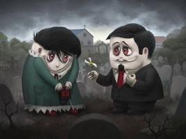 Cemetery Love by dante-cg