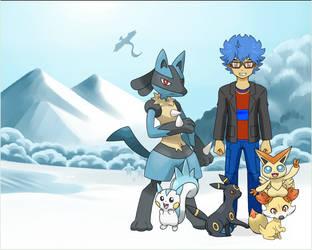 My Pokemon Team by Shade-C-Llewellyn