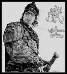 The Warrior ( Musa ) by mvlaniel