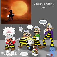 Lucky Link et les Dalton Bros by Y-Mangaka