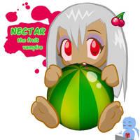 OC: NECTAR, the fruit vampire by Y-Mangaka