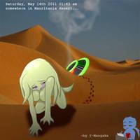OC : lost alien by Y-Mangaka