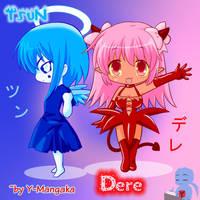 meet the hellish heavenly duo by Y-Mangaka