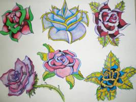 rose flash by AMurisan