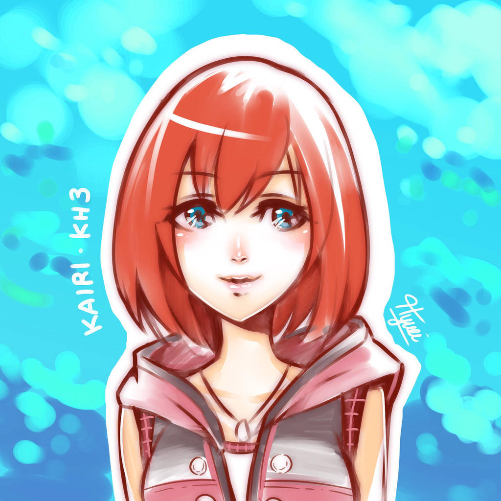 Kairi Kingdom Hearts 2: Kingdom Hearts 3 By Hyuei On DeviantArt