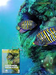 Magazine cover art by Rajabally
