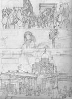 Paris 2 -sketch- by Ermy