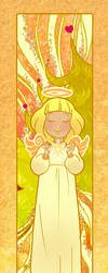 Christmas Angel by Ermy