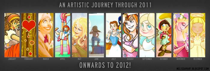 2011 Art summary by Ermy