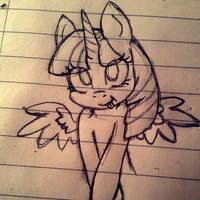 Quick Twilight sketch  by Cyanyeh