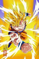 Goku SSJ2 Attack v2 by SnaKou