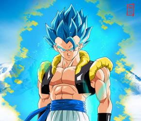 Gogeta SSJ Blue Appears (Dragon Ball Super BROLY) by SnaKou
