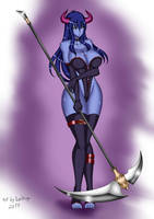Kashar, The Reaper (Alternative Costume) by koma-kun