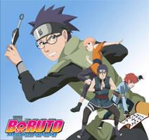 [Boruto OC] Team Hakuba by Luchi26