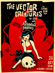The Vector Creatures poster by grelin-machin