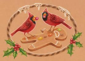 Cardinals Shenanigans by grelin-machin