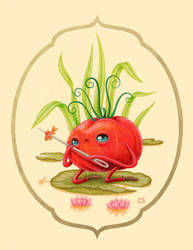 Some Tomatoes Prefer Fish by grelin-machin