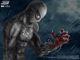 Spidey-symbiote by gomholb