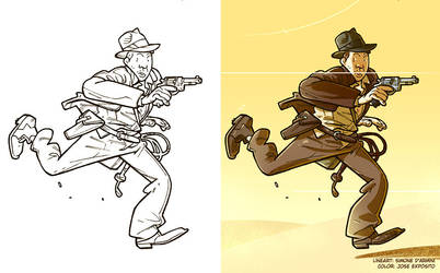 Indy Color for fun by Lincelots
