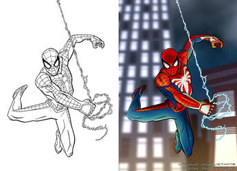 Spiderman by Lincelots