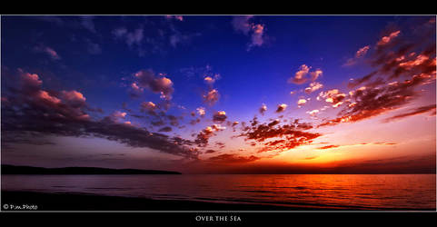 Over the Sea by Marcello-Paoli