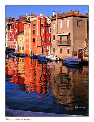Reflections in Venice by Marcello-Paoli