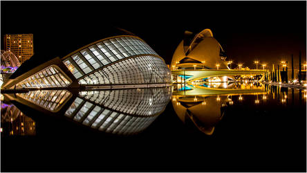 Hemispheric at Night by Marcello-Paoli