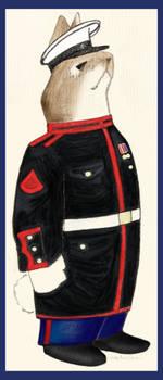 Velveteen Marine by ladycaviar