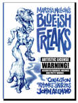 Marsha Mellow's Blue-ish Freaks by sallemander