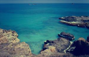 Caribbean Sea by Morgan-Timblene