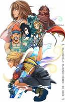 FINAL FANTASY X HD Illustration by Kanokawa