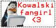 Kowalski fangirl stamp by PsychoAngel51402