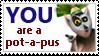 Potapus stamp by PsychoAngel51402