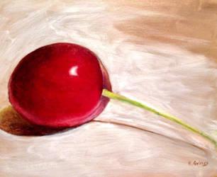 Cherry in oil by shy-pet