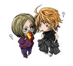 chibi me and sanzo by kibou by DragonladysLair